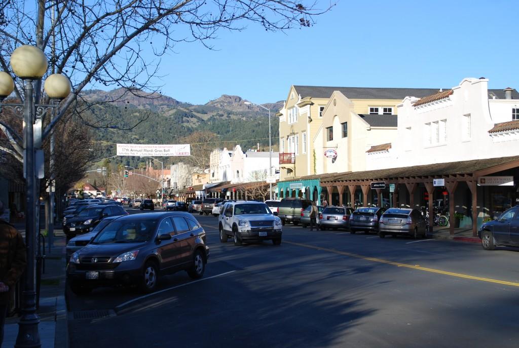 A rua principal