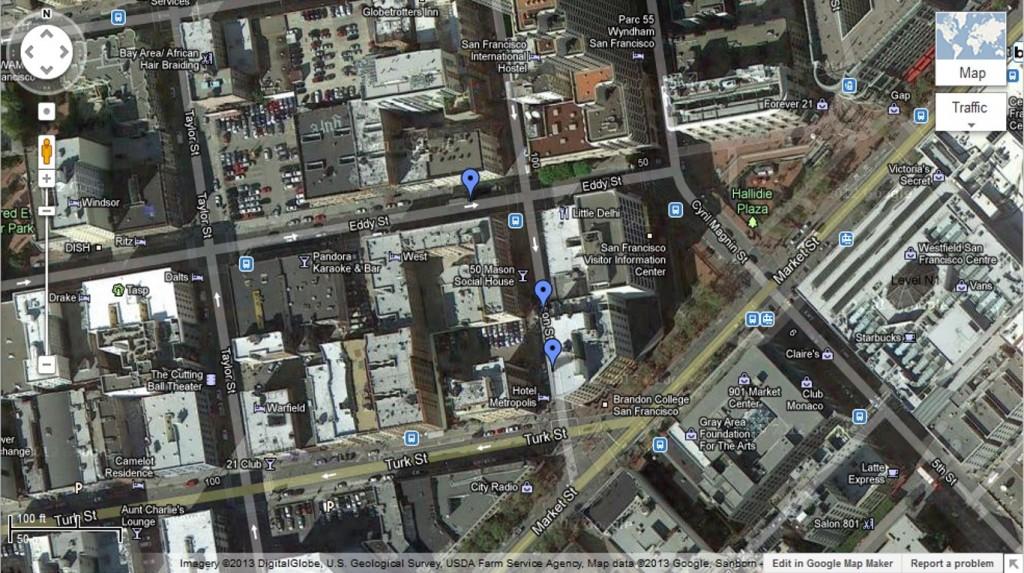 map blog