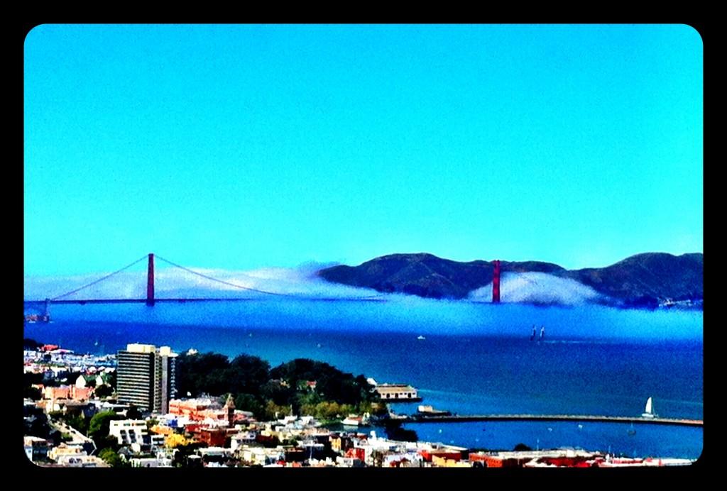 Golden Gate Bre, vista da Coit Tower