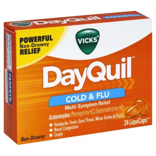DayQuil + NyQuil - Produtos e remédios para gripe e resfriados em viagem - Hotel California Blog