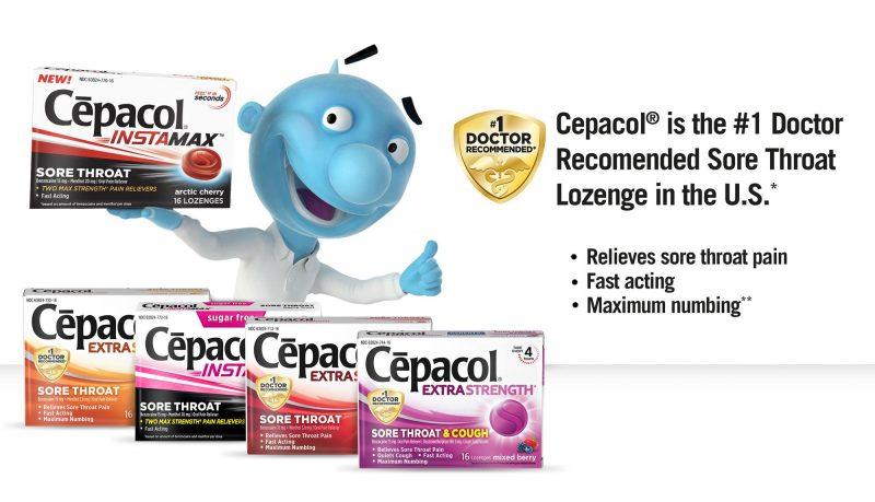 Cepacol - Produtos e remédios para gripe e resfriados em viagem - Hotel California Blog
