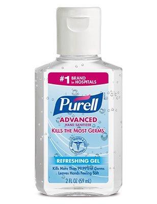 Purell - Produtos e remédios para gripe e resfriados em viagem - Hotel California Blog