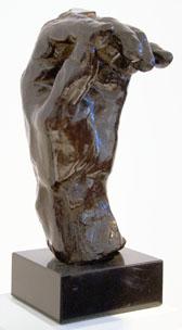 Auguste Rodin (France, Left Hand of Eustache de Saint-Pierre, c. 1886. Bronze.