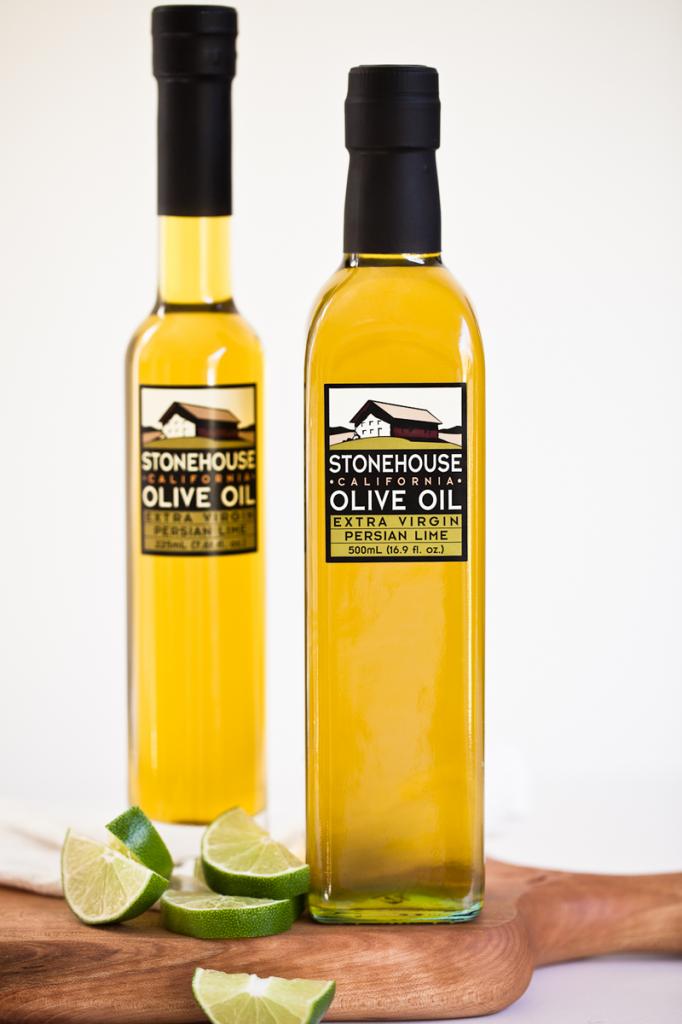 Os oleos de oliva da California são ótimos!