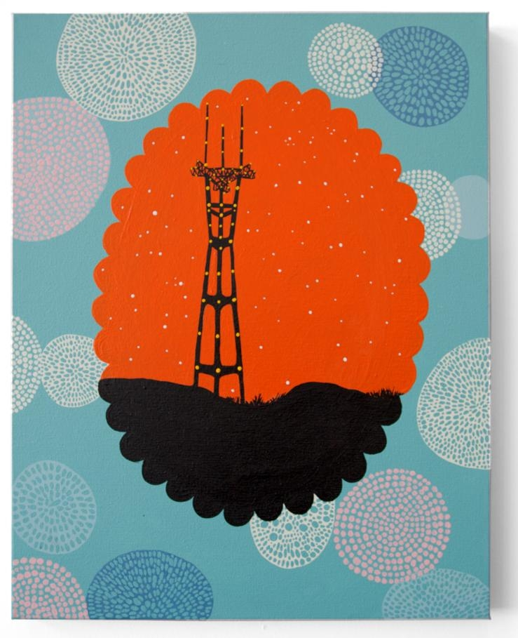Quadro da Sutro Towers - Fish Studios