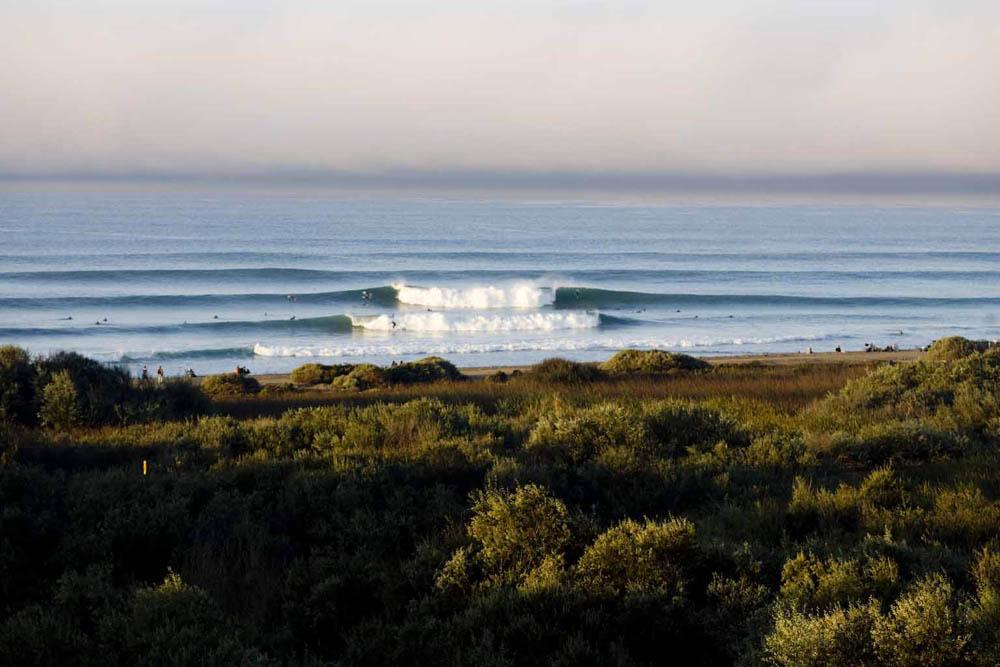 Lower Trestles, em San Clemente, palco do circuito mundial de surf