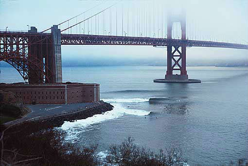 Fort Point - bem embaixo da Golden Gate