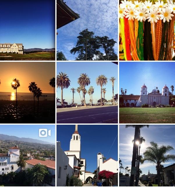 Em São Francisco, Los Angeles e Santa Barbara.