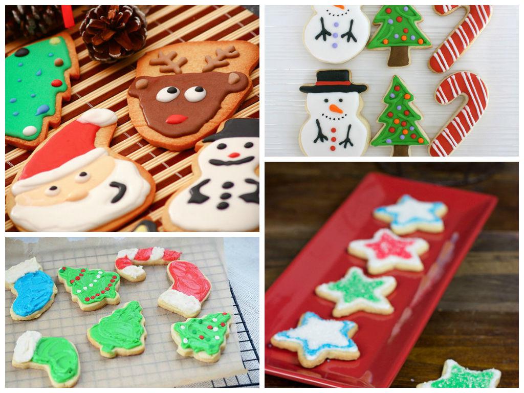 Os biscoitos ficam lindos, se você tiver algum talento pras artes. Não vou mostrar como ficam os dos meus sobrinhos!