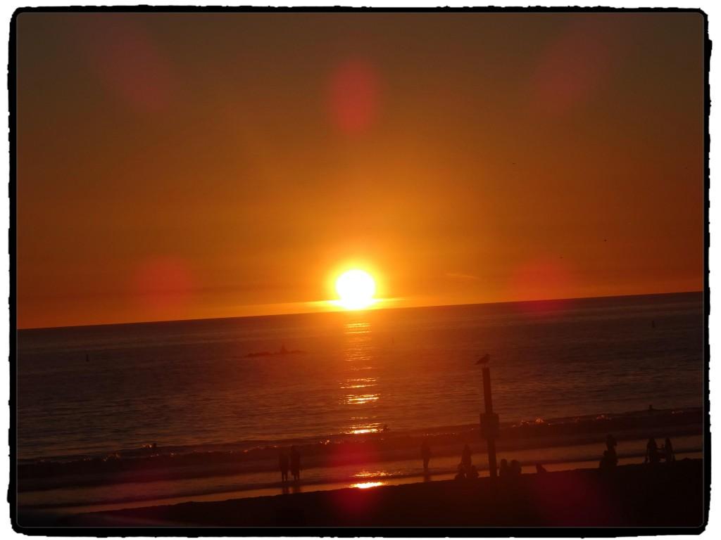 Por do sol em Santa Monica. #nofilter