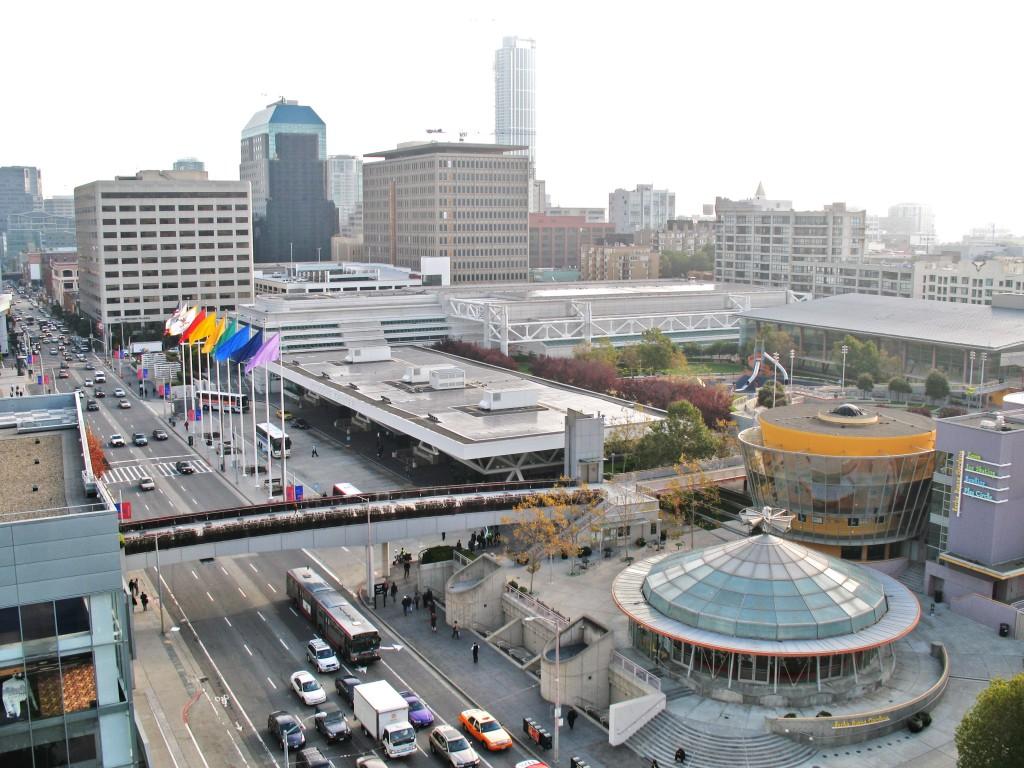 Moscone Center. Foto: moscone.com