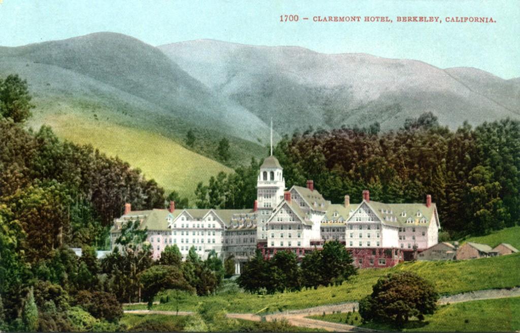Claremont Hotl, no início do século XX.