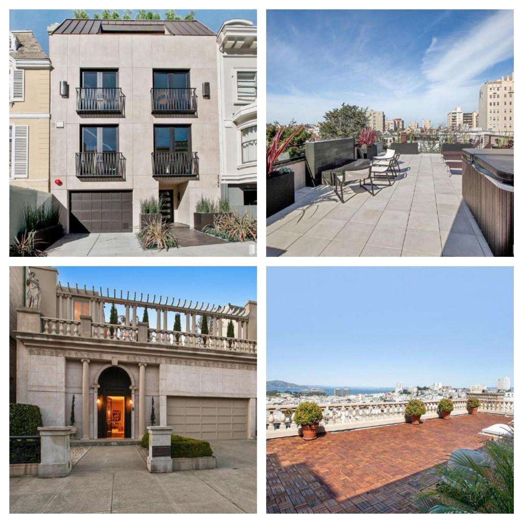 U$ 11,5 milhões foi o preço de venda dessas duas casas. As duas foram vendidas por mais do que o pedido.