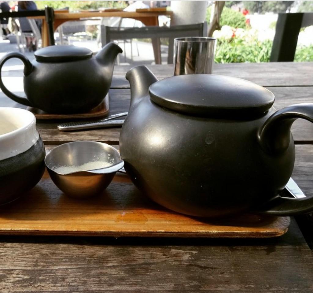 A cerimônia do chá no Samovar
