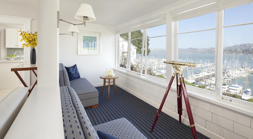 A vista do quarto do Casa Madrona, também não é má.