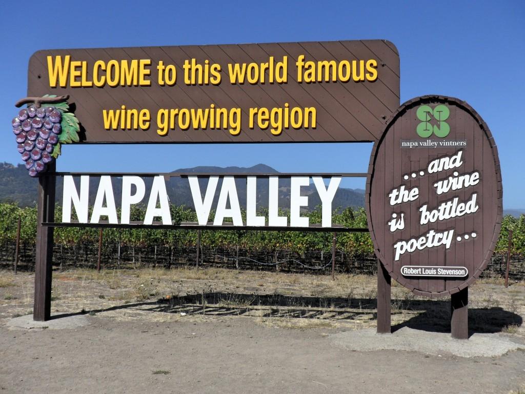 Placa de Napa Valley