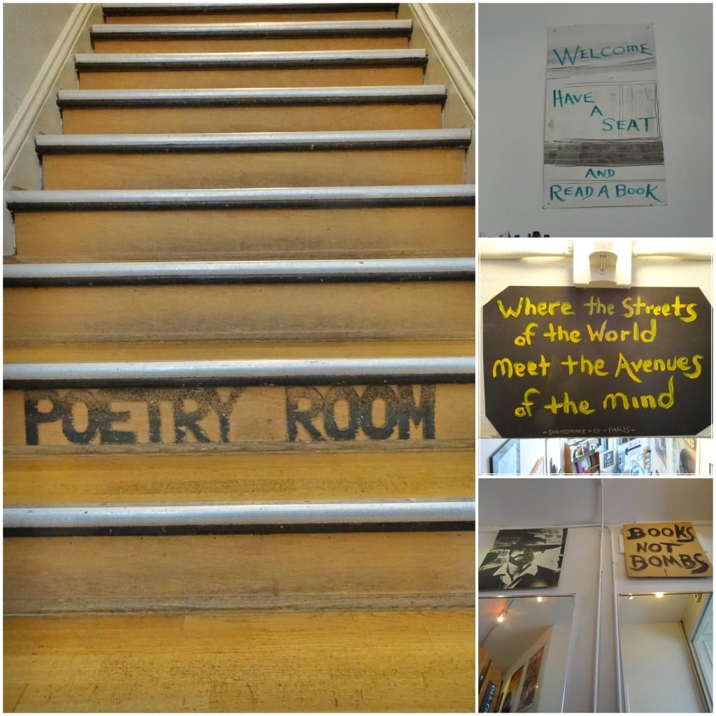 Sala da poesia.