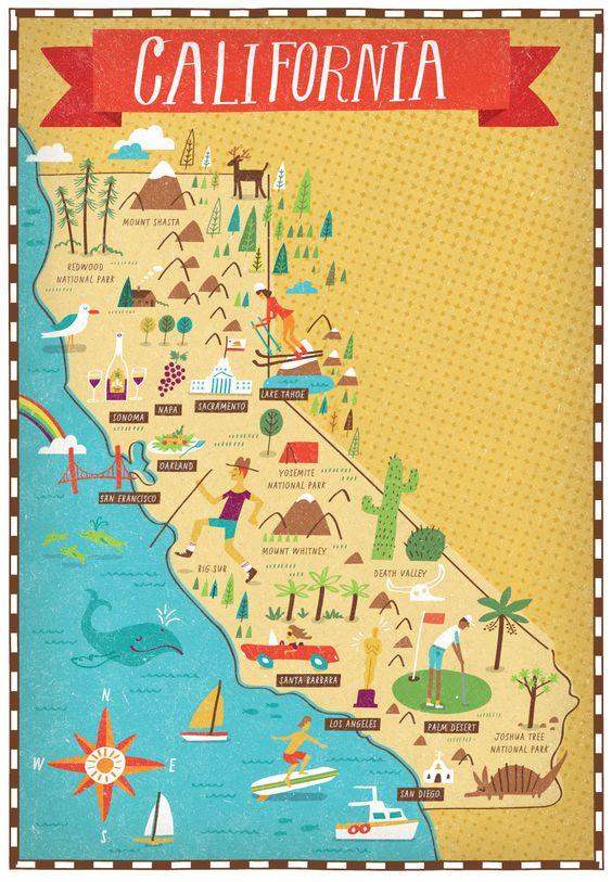 Roteiros da Califórnia