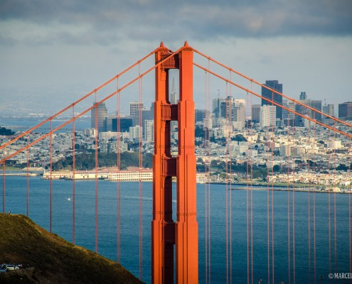 Golden Gate Bridge - foto de Marcelo Alexandre