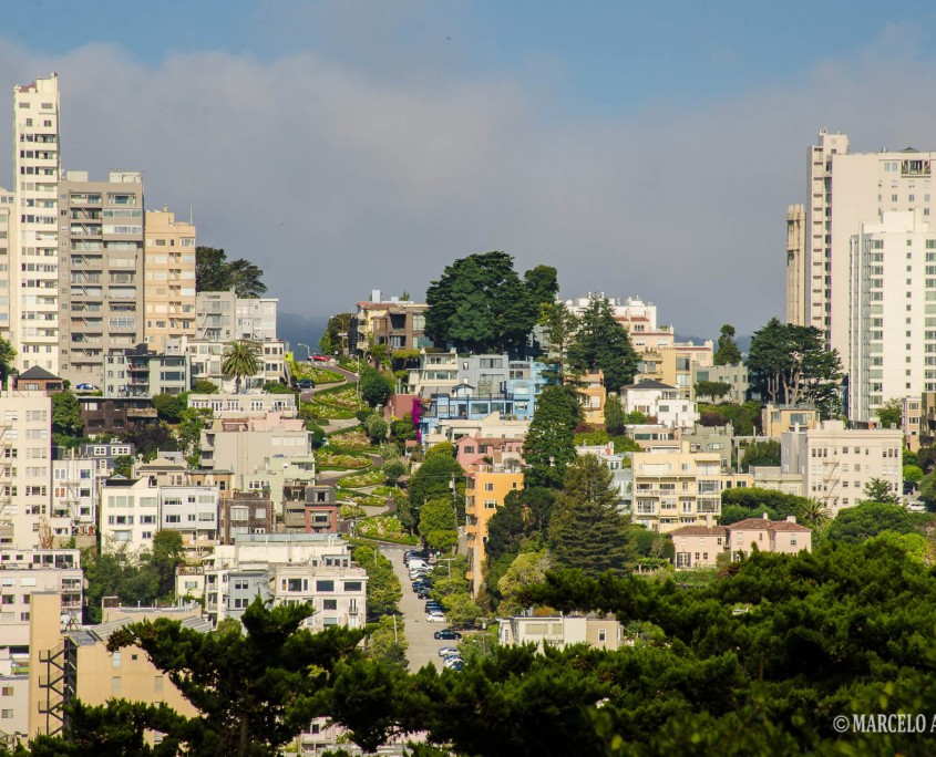 Lombard Street - foto de Marcelo Alexandre