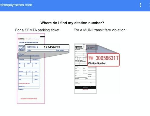 Como encontrar o número da multa