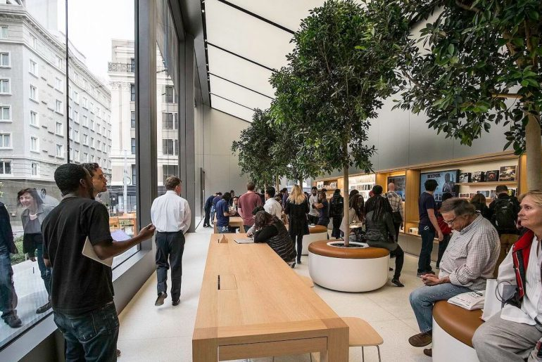 Apple Store Union Square em São Francisco - Hotel California Blog
