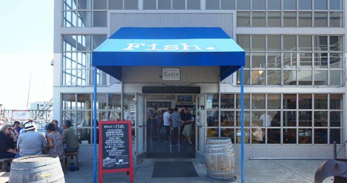 restaurante Fish em Sausalito