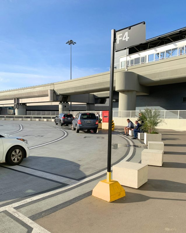 Como pegar o Uber em São Francisco (SFO) - Parking Garage Level (App)