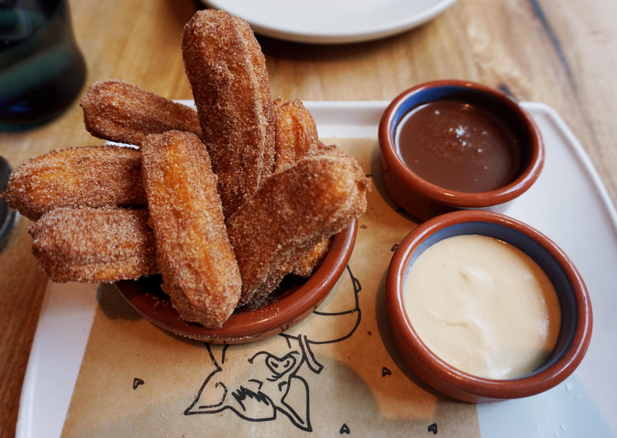 churros bellota - restaurante espanhol em São Francisco