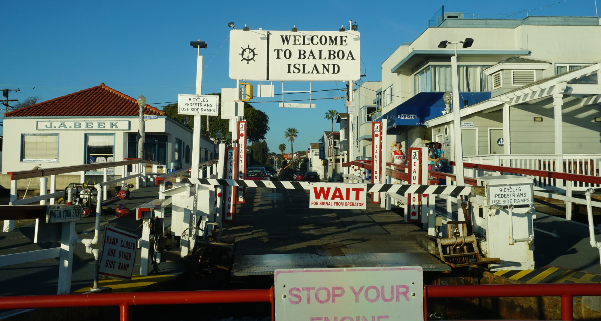 chegada ferry Balboa