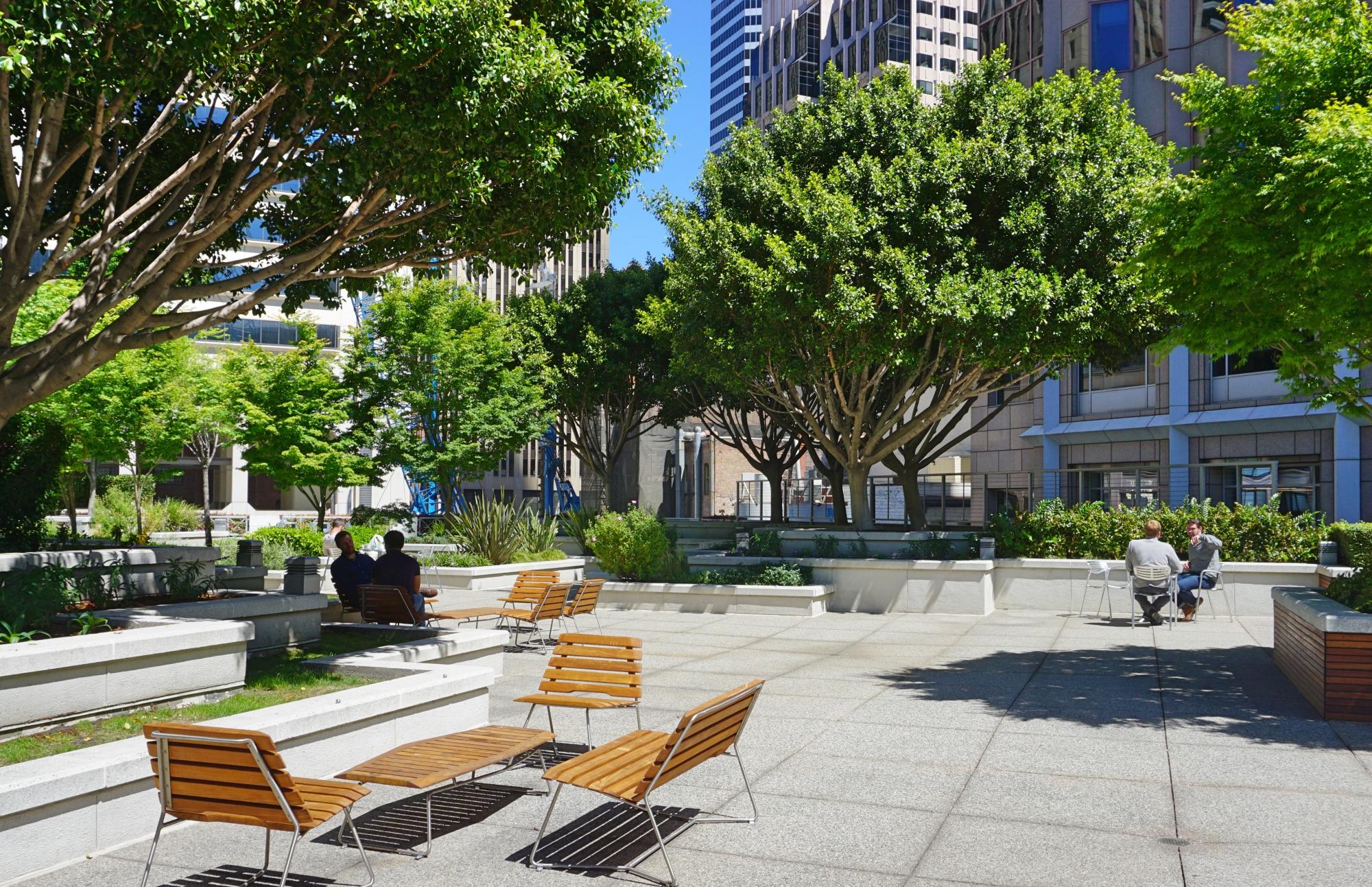 terraços de San Francisco