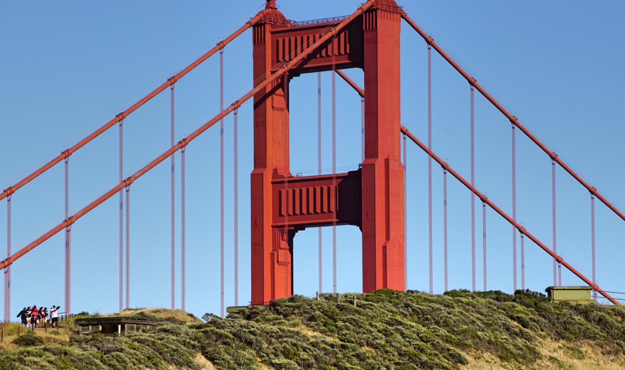 Melhores vistas da Golden Gate
