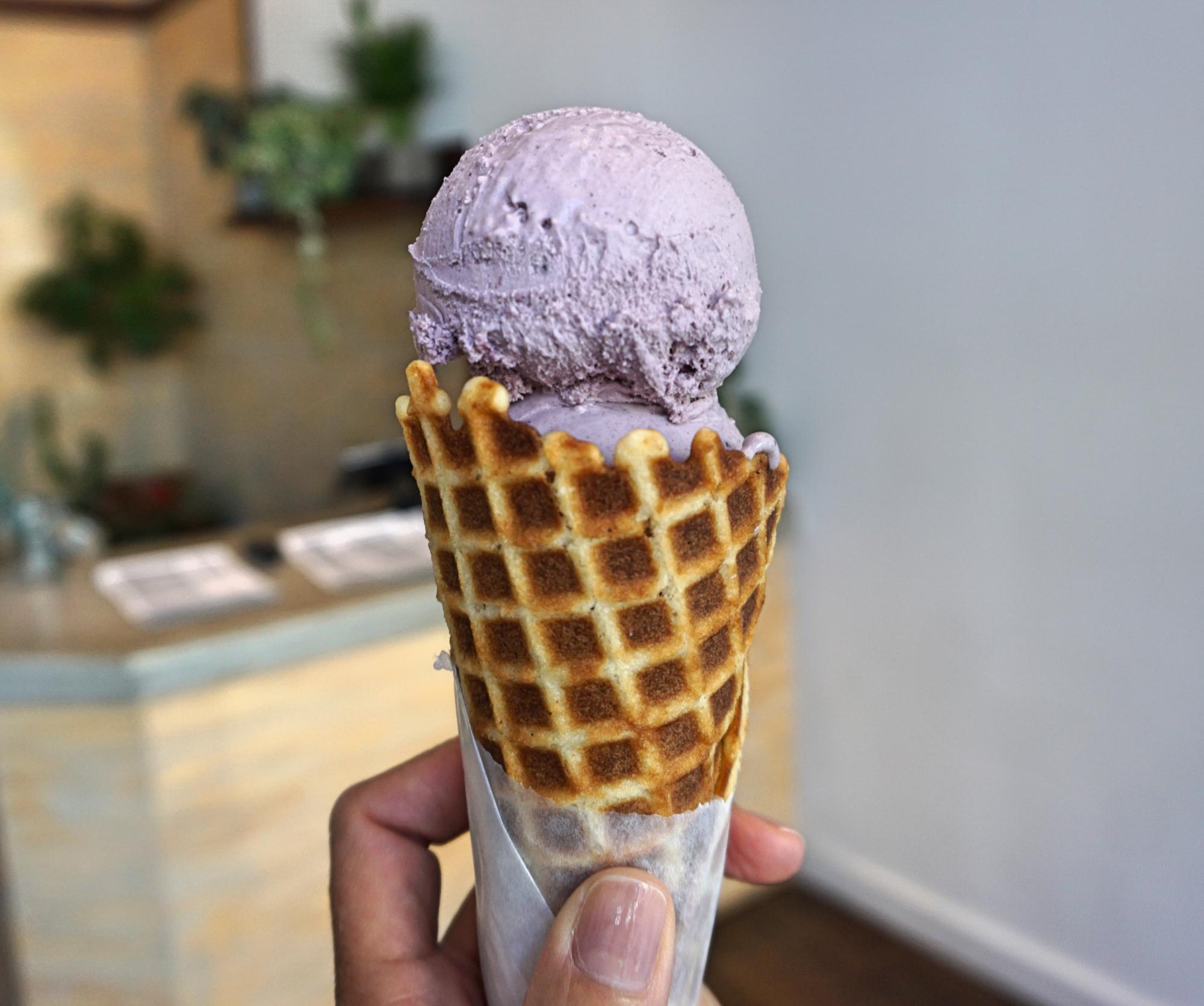 o melhor sorvete da cidade