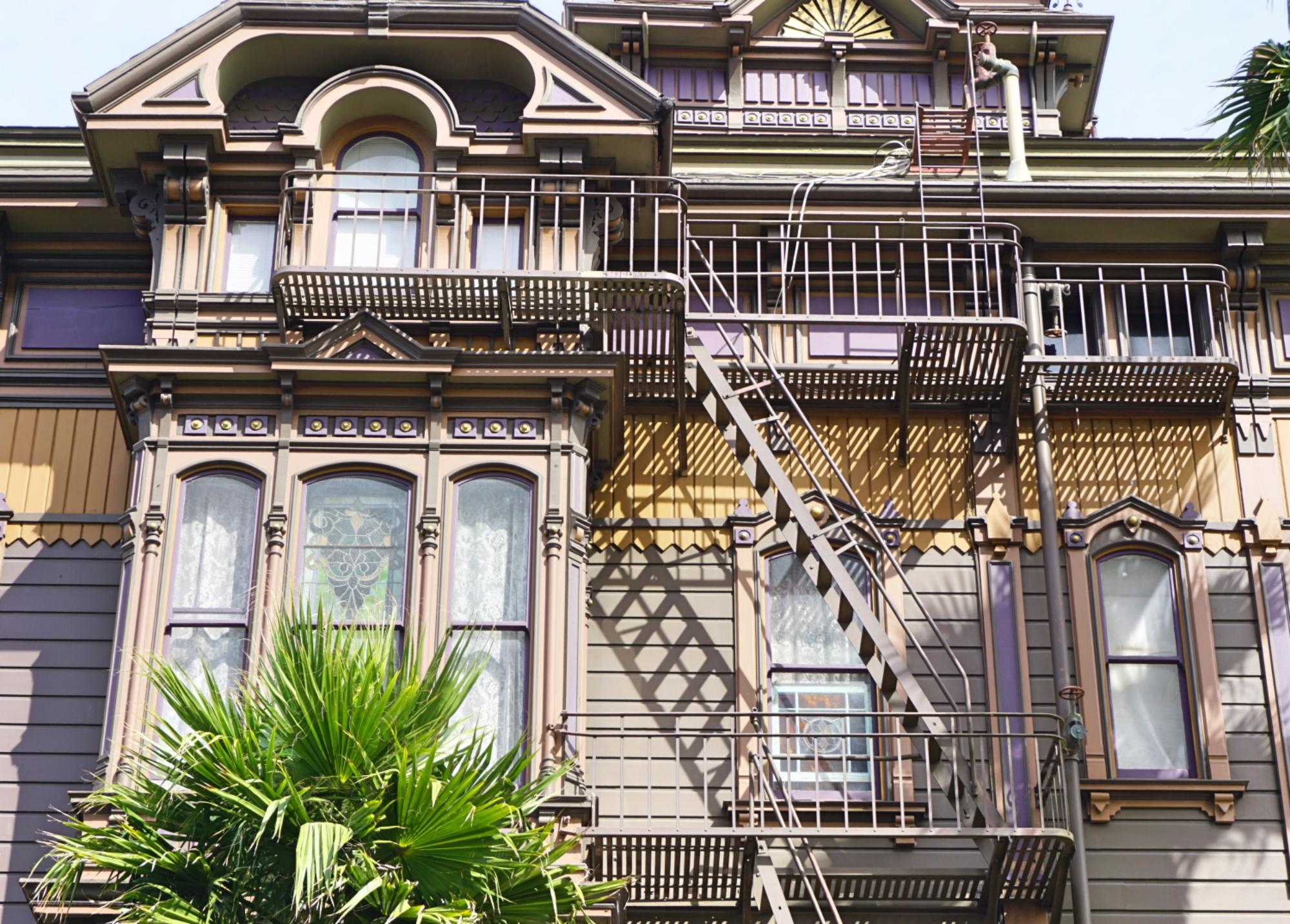 casa mal assombrada da Alamo Square