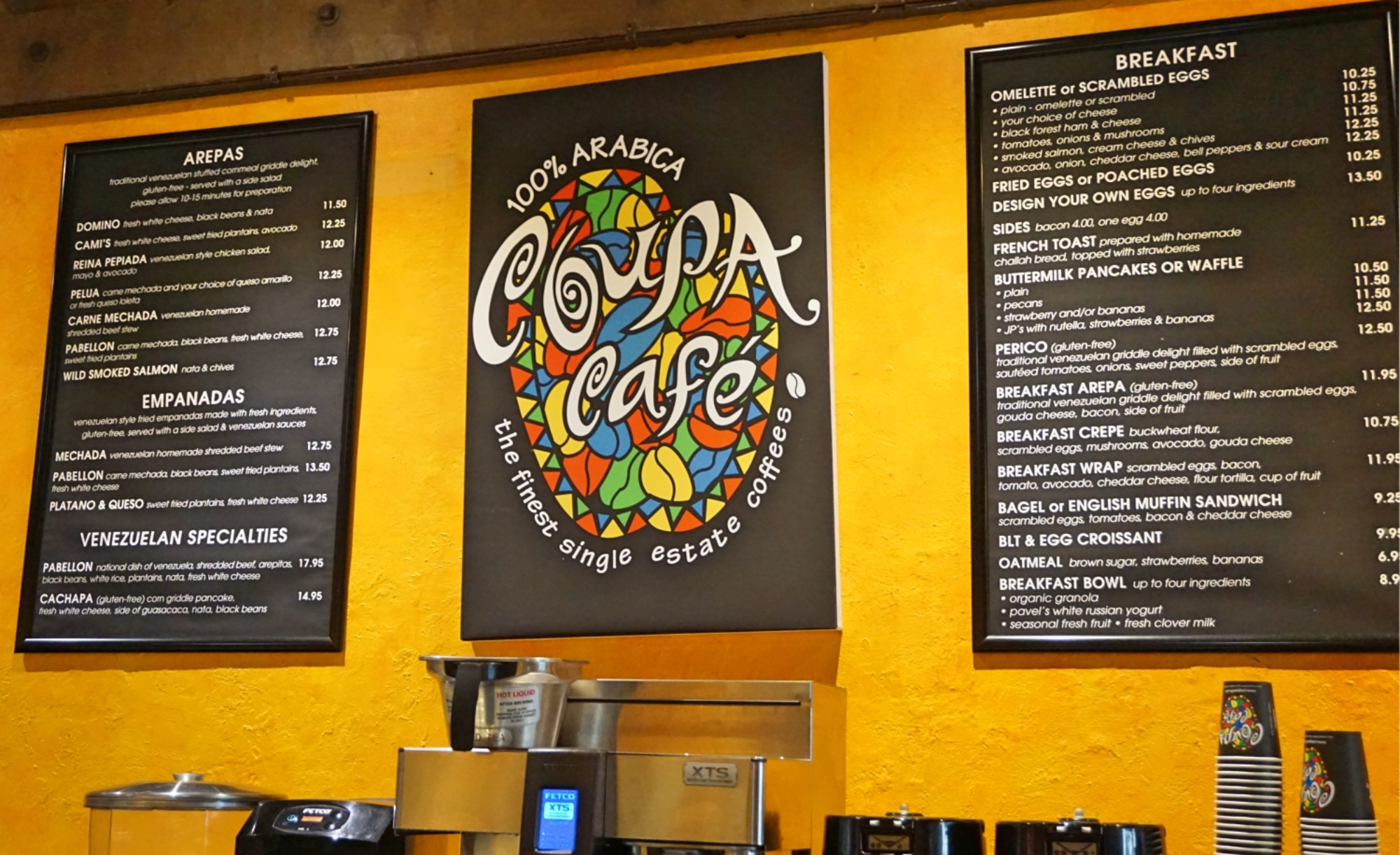 Coupa Cafe, o café tech em Palo Alto