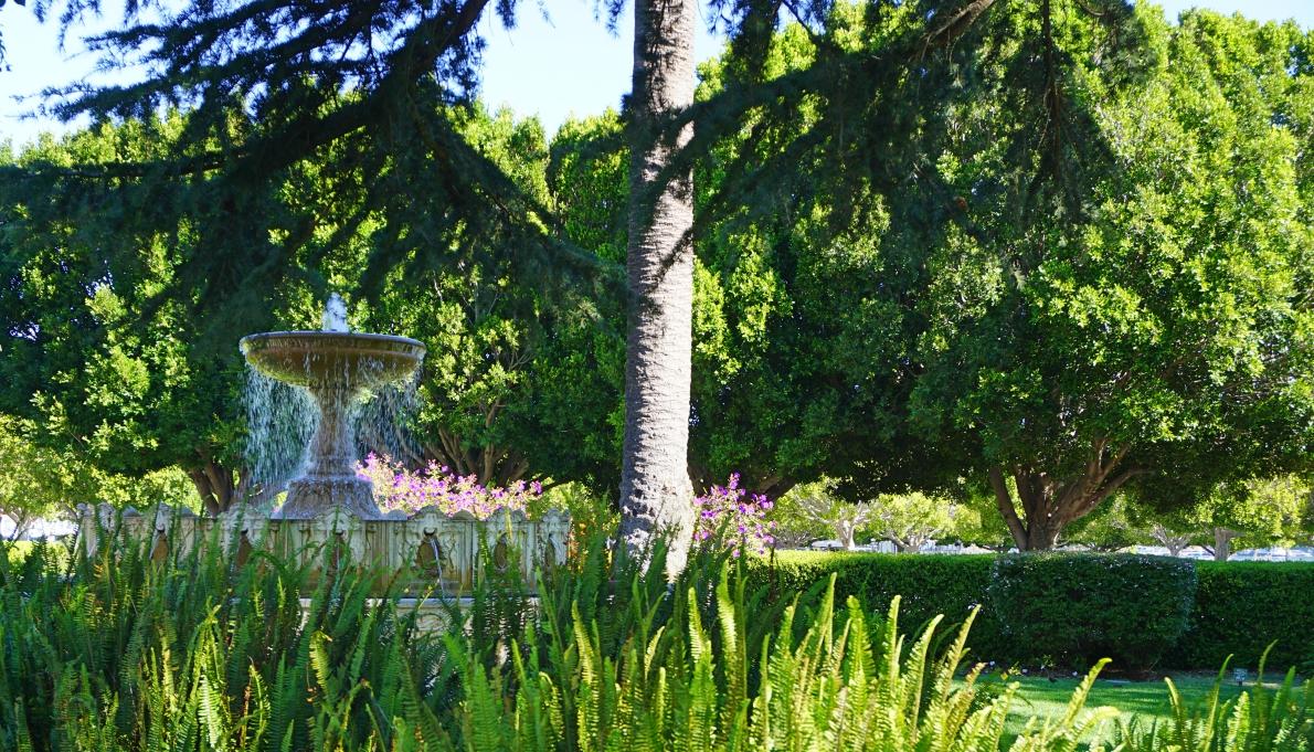 Jardim em Sausalito - Hotel California Blog