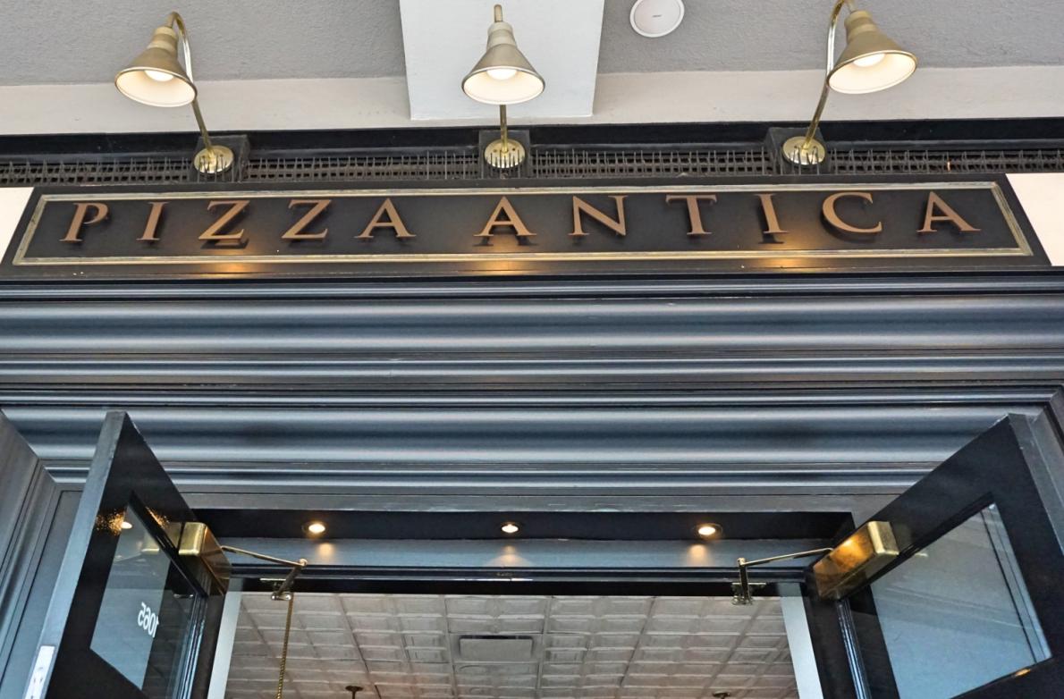 Pizza Antica em Santana Row