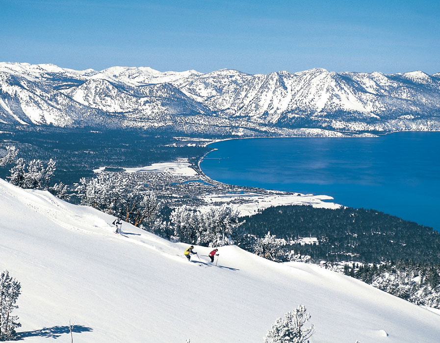 Lake Tahoe - Inverno na California