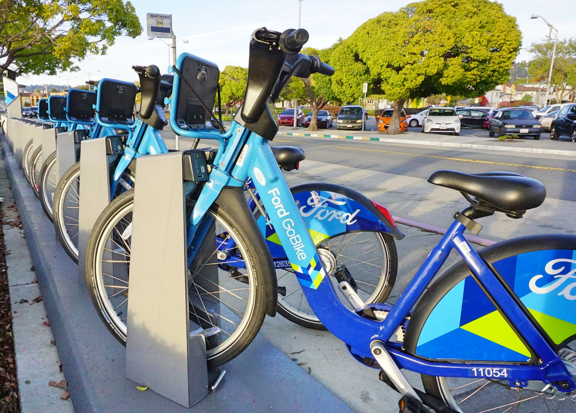 alugar bicicleta em San Francisco