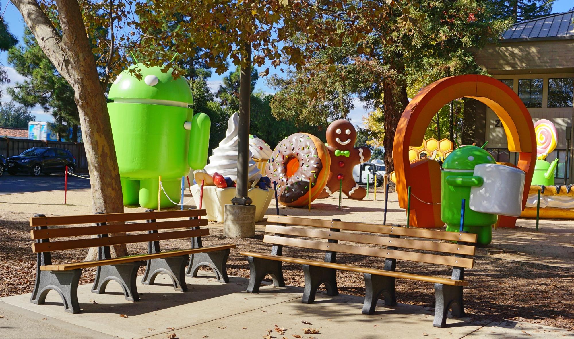 visitar a lojinha do Google
