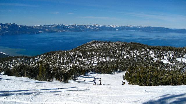 onde esquiar perto de San Francisco