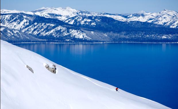 esquiar na California em 2019
