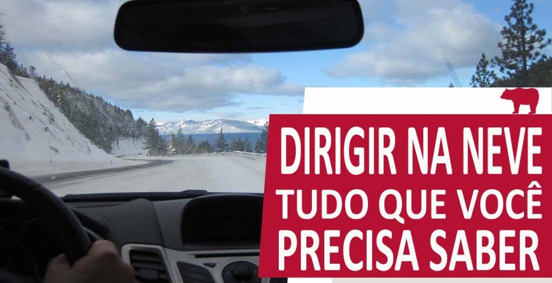 dirigir na neve