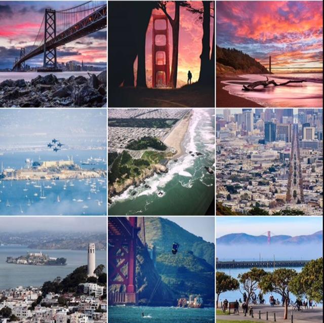 inspirar sua viagem à California