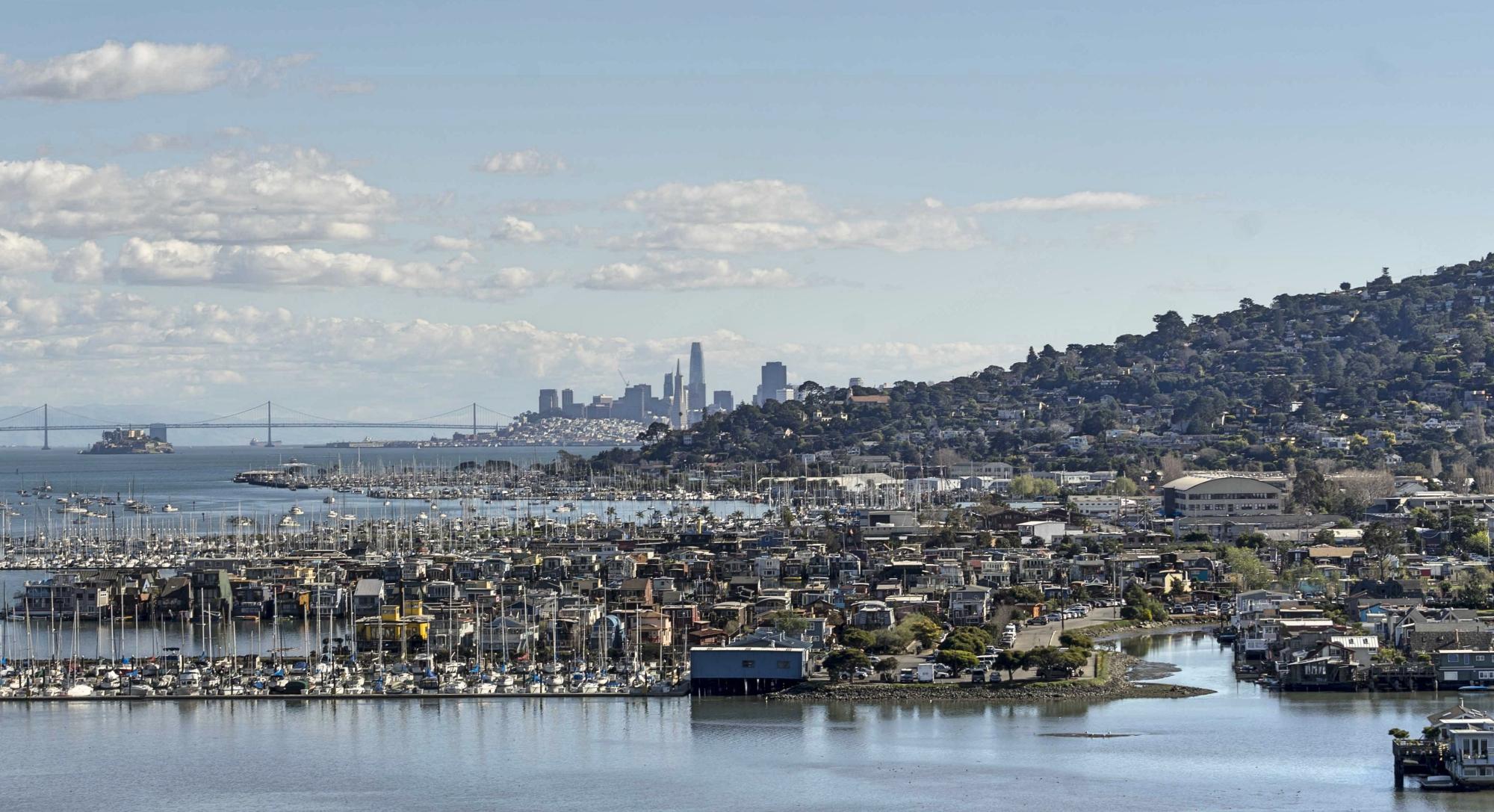 Sausalito - Helicóptero em San Francisco