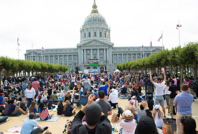 assistir os jogos da Copa em San Francisco
