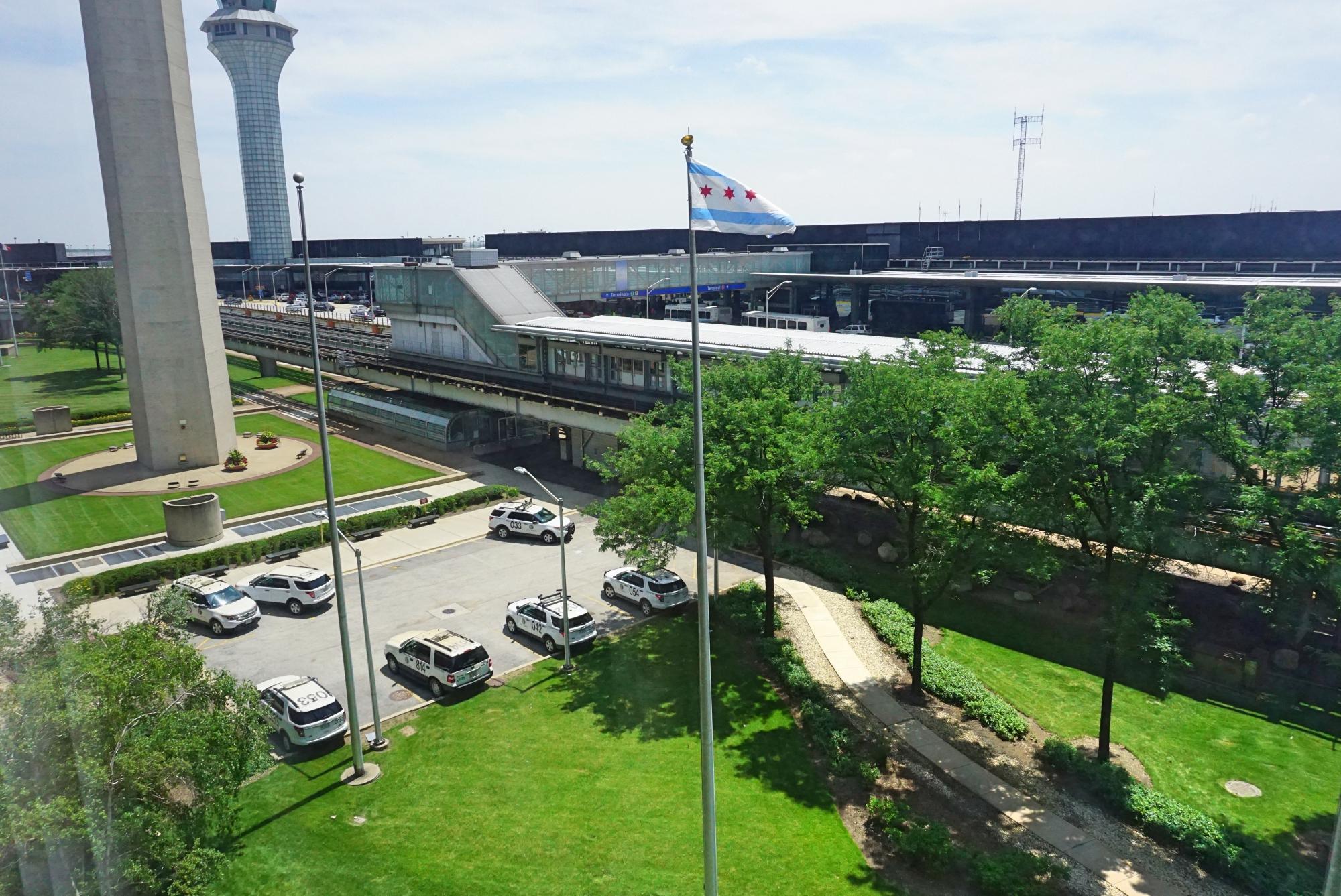 dormir no aeroporto de Chicago