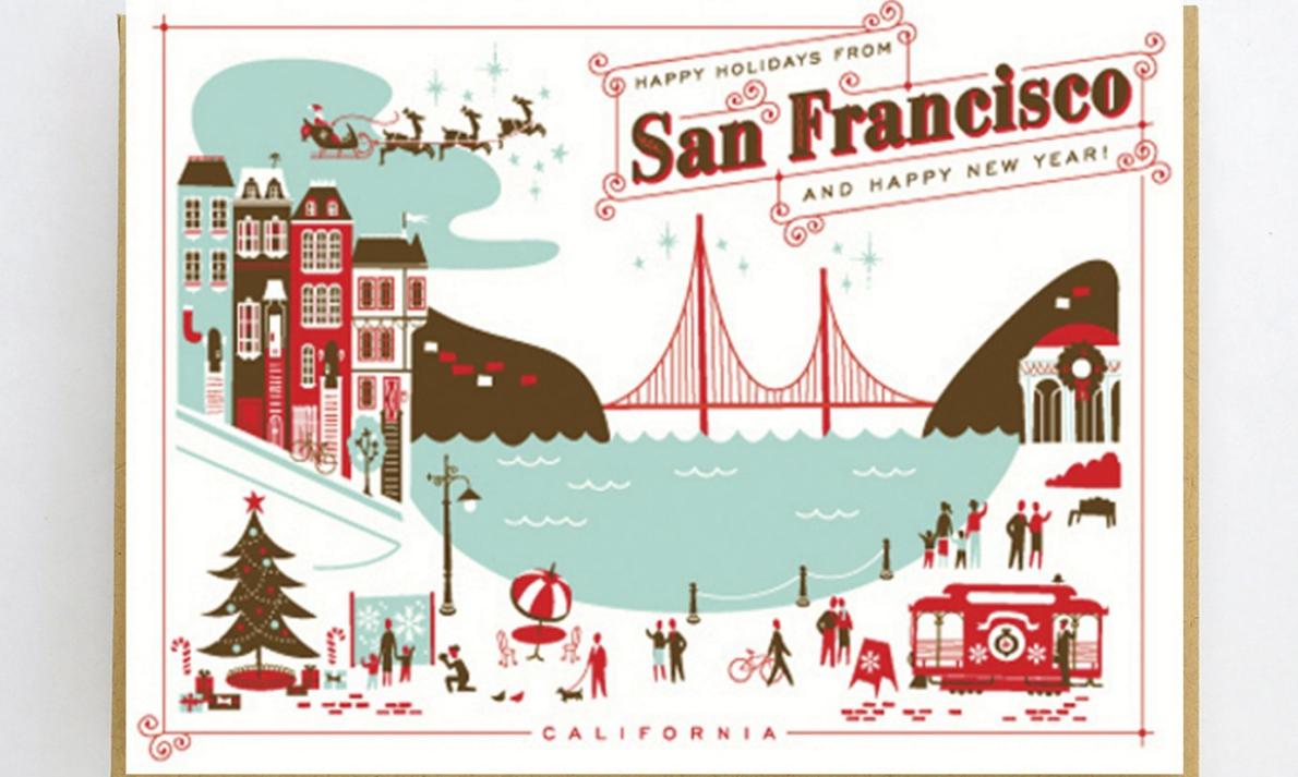 natal e ano novo em San Francisco