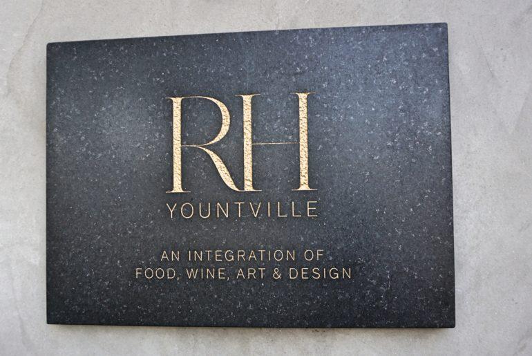 RH, em Yountville