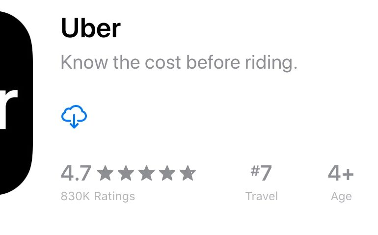 Uber em LAX